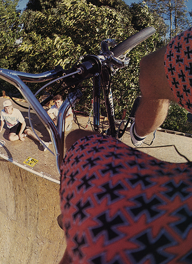 Brian Blyther // Turndown // November 1988 Freestylin' // Photo Spike Jonze