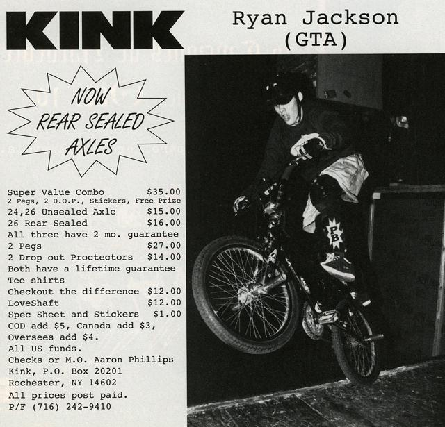 Kink BMX ad // Ryan Jackson