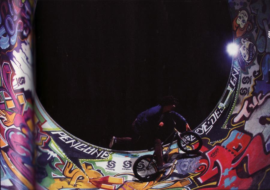 Dirt Ron  // First Photo in Ride BMX // Photo by Ryan Fudger