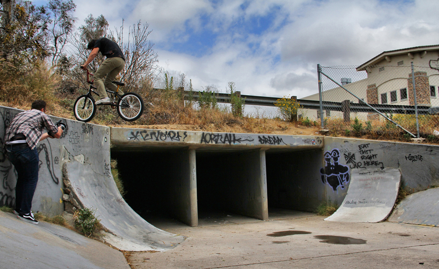 Dirt Ron // Nosepick to Fakie at Home Ave // Photo by Lee Hopkins