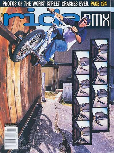 "Mike ""Rooftop"" Escamilla // Ride BMX Cover"