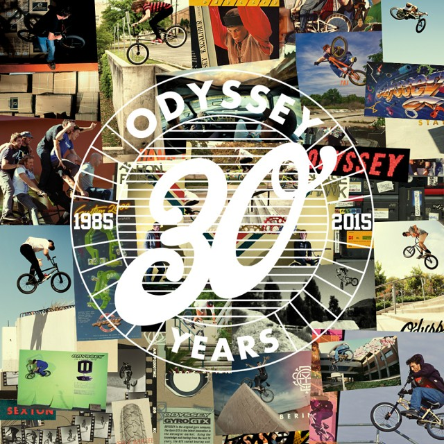Odyssey BMX // 30 Year Anniversary Flyer